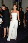 Jennifer Lopez - Versace Haute Couture F/W 14/15 Fashion Show in Paris 7/6/14