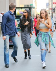 Selena Gomez - Having lunch in NYC 7/10/14