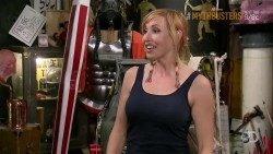 Kari Byron - Caps - Latest Mythbusters episode Fire in the Hole - 07/10/14