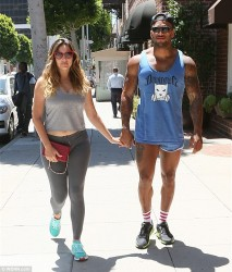 Kelly Brook Out in Beverly Hills on July 11, 2014