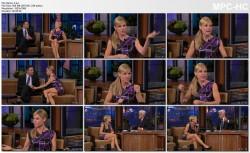 JULIE BOWEN *leg show* - Leno - 9.15.2010