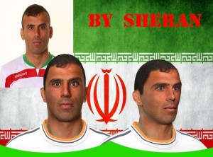 Download Jalal Hosseini Face PES 2014 by sheran