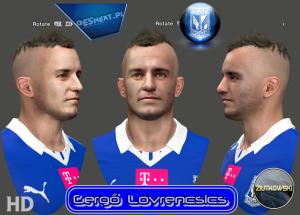Download PES 2014 Gergő Lovrencsics Face by ZIUTKOWSKI