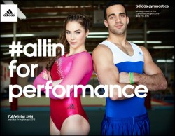 McKayla Maroney - Adidas Gymnastics Fall/Winter 2014 Catalog