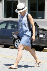 Kristen Bell out and about in Beverly Hills 07-17-2014