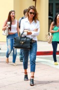 Jessica Alba - Shopping in Santa Monica 7/18/14