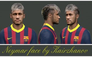 Download PES2014 Neymar Face by Kairzhanov