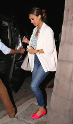 Jessica Alba at Katsuya restaurant in LA 07-17-2014