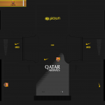 FC Barcelona 14-15 Liga and CL Kits v2 by Tunevi