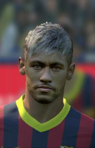 PES 14 Neymar Face by Kairzhanov