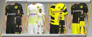 Download Borussia Dortmund Kits 2014-15 by Alepes