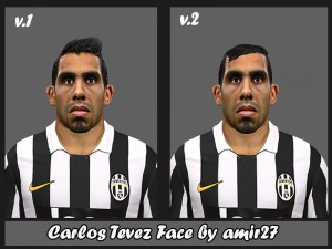 Download Carlos Tevez Face by amir 27