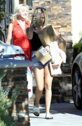 Ashley Tisdale at Her Mom's House in Toluca Lake - July 23, 2014