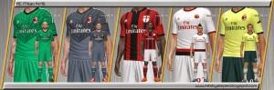 Download PES 2014 Kits AC Milan 2014/15 by Alepes