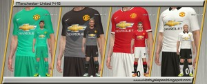 Download Man. United Kits 2014/15 by Alepes