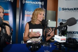 Tricia Helfer SiriusXM Broadcasts from Comic-Con 07-25-2014
