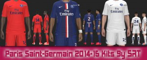 Download Paris Saint-Germain 2014-15 Kits By SRT
