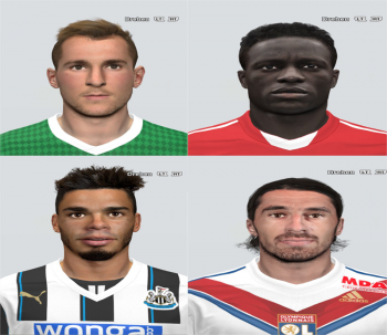 PES 2014 Inernational FacePack # 1 by Rednik