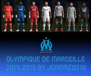 Download Marseille 2014-2015 Kits by JEREMZ0310