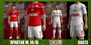 Download FC Spartak Moscow 14/15 Kits by DARTS