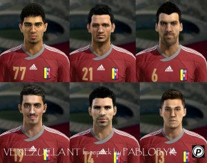 Download Venezuela NT minifacepack PES 2013 by pablobyk
