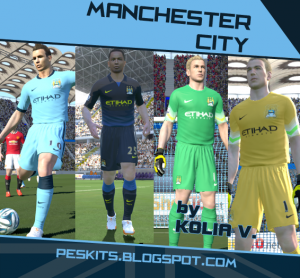 Download Manchester City 14-15 Kits by Kolia V.