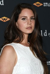 "Lana Del Rey - ""Child Of God"" Premiere in NYC 7/30/14"