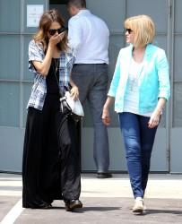 Jessica Alba out in LA 07-29-2014