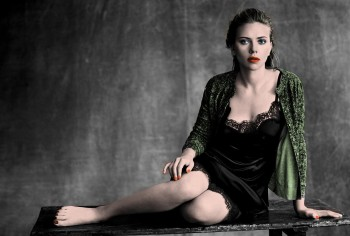 Scarlett Johansson - 1 Picture - Colored by me
