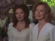 Brigid Brannagh - Touched by an Angel 3x09 (cleavage)