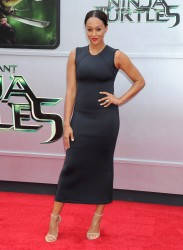 Tia Mowry - Teenage Mutant Ninja Turtles premiere in Westwood - 08/03/14