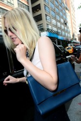 Dakota Fanning - Leaving her hotel in NYC 8/5/14