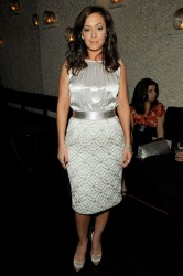 Leah Remini at the New York Rescue Workers Detoxification Project Charity Event 3/5/09