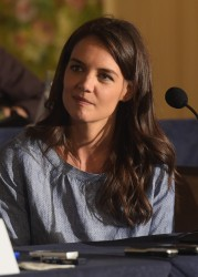 Katie Holmes - 'The Giver' Press Conference in NYC 8/12/14