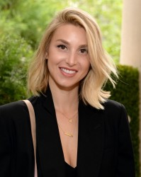 Whitney Port Gilt Cambridge Satchel Company Mini Capsule Collection Breakfast in NY 08-12-2014