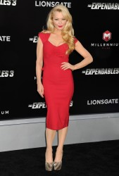 "Charlotte Ross ""The Expendables 3"" premiere in Hollywood 08-11-2014"