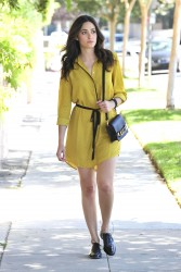 Emmy Rossum out in Beverly Hills 08-14-2014