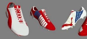 Puma Boots for FIFA 14 Arsenal Edition(Evopower & Evospeed)