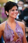 Tiffani Thiessen - Hollywood Ending premiere at Cannes, May 15, 2002