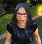 Julia Louis-Dreyfus - Ice Bucket Challenge - 8/17/14