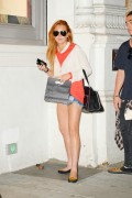 Lindsay Lohan - Out and about in NY August 18-2014 x7