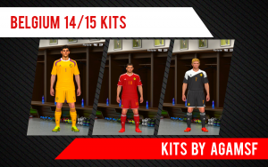 Download PES 2014 Belgium 14/15 Kits By AGAMSF