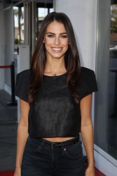 Jessica Lowndes at Hollywood Today Live studios in LA 08-18-2014