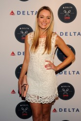 Katrina Bowden - Delta Airlines OPEN Mic Private Karaoke Event in NYC 8/20/14