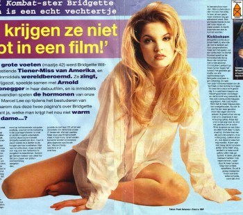 Bridgette wilson nude fakes remarkable, the