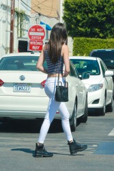 Kendall Jenner - Shopping in West Hollywood 8/22/14
