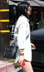 Kylie Jenner - Out for lunch in West Hollywood 8/22/14
