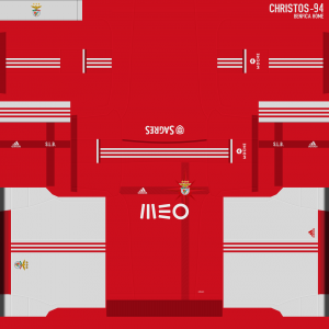 Download Benfica Home Kit by christos-94 For PES 2014 and save as PNG to import it