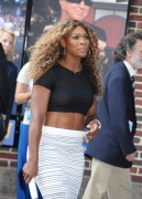 "Serena Williams arriving at ""Late Show With David Letterman"" in New York August 20-2014  x47"