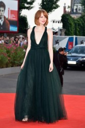 Emma Stone - Opening Ceremony & 'Birdman' Premiere at the 71st Venice Film Festival 8/27/14